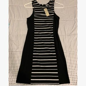 American Eagle Open Back Bodycon Striped Dress